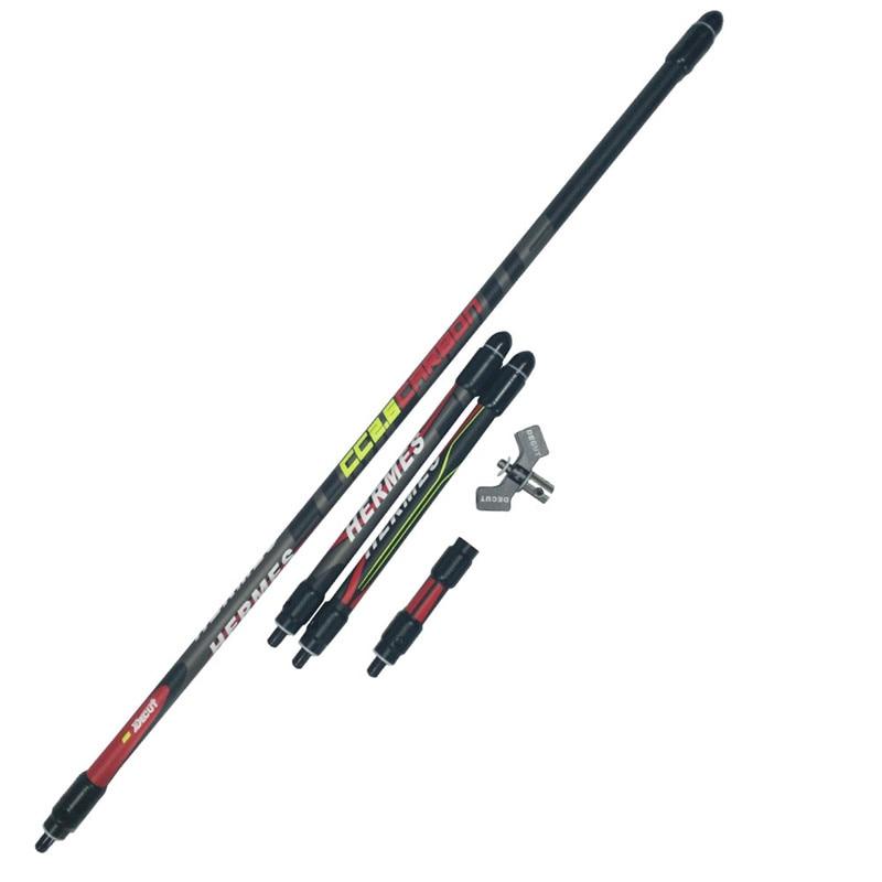 купить Decut 1Set Archery Stabilizer Balance Bar Rod Weight Archery Recurve Bow Damper Slicener Outdoor Hunting Accessory по цене 5363.72 рублей