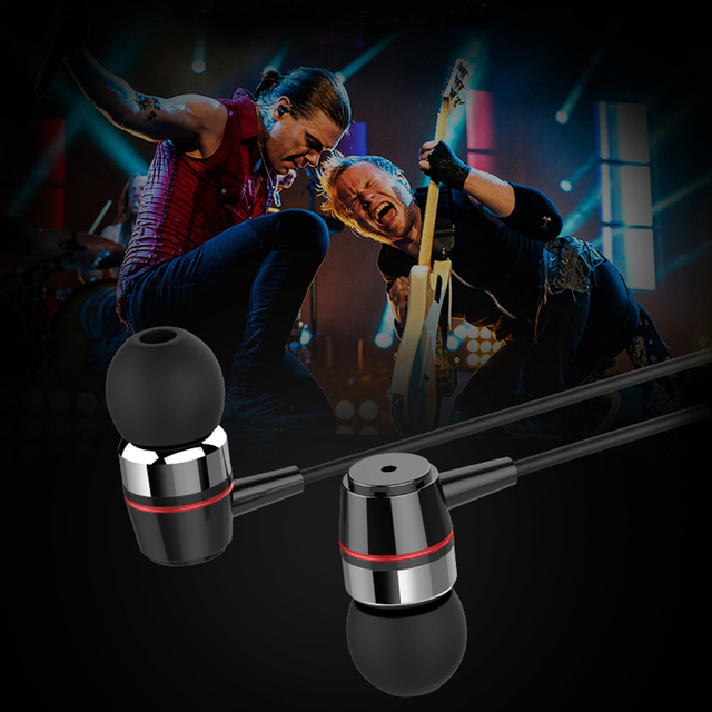 Original Inpher FUQING Bass In-ear Earphones Super Clear Metal Earphone Noise isolating Earbud For iphone 6 Meizu Xiaomi MP3 PC