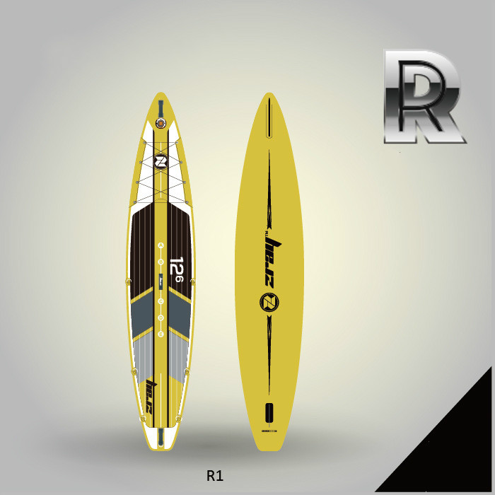 Sea Surfing Paddle Board Racing Paddle Board SUP Inflatable Paddle Board Thickening Paddle Surfboard