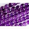 """Atacado Natural de Um Grau de Ametista Purple Crystal Rodada Pedra Solta Beads 3-18mm Jóias Fit DIY Colares ou Bracelets15 """"02890"""