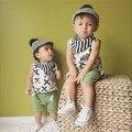 Nuevo Estilo Bebé del muchacho pantalones Harén Niños pantalones cortos 100% de Algodón Para niños 1-3 años ropa de niños