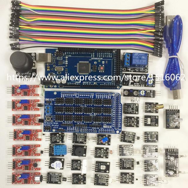 37 Módulo Sensor de Mega 2560 R3 Escudo 2.0 Starter Kit Novo