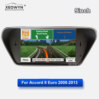 Android car radio Quad core for honda Accord 8 corsstour Europe 2008 2013 GPS Navi maps Navigation Player Radio Multimedia wifi