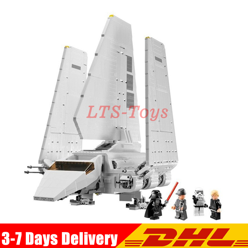 LEPIN 05034 Genuine Star War Series The Imperial Shuttle Educational Building Assembled Blocks Toys Compatible Legoing 10212 ручка шариковая beifa с металл наконечником 0 4 мм черная page 1