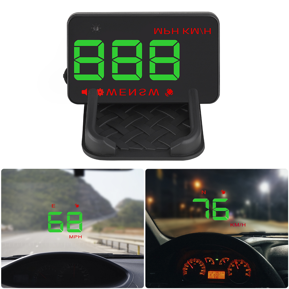 Image 4 - GEYIREN A5 Universal Car HUD GPS Satellite Head Up Display Overspeed Warning Voltage Alarm For All Car and Trucks-in Head-up Display from Automobiles & Motorcycles