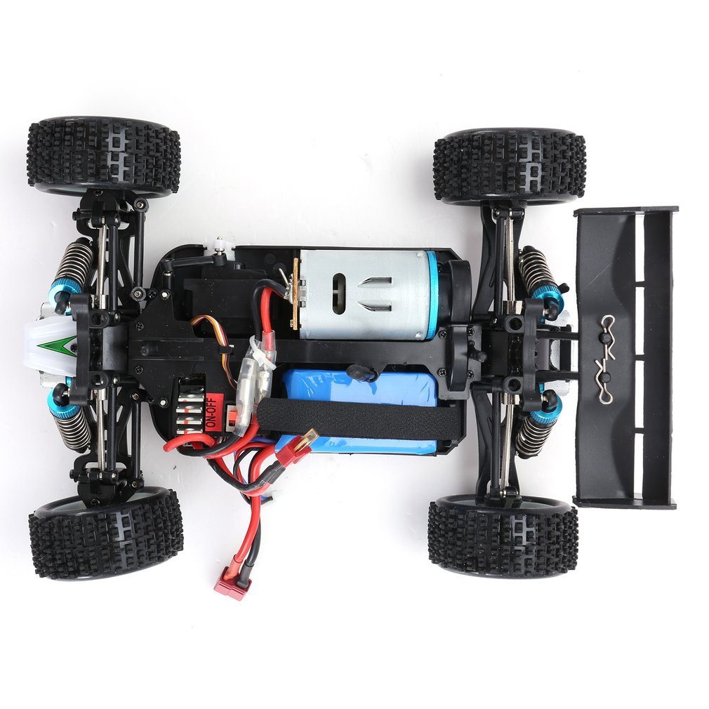 1 18 4WD Off Road RC Car 70km h 2 4G Remote Control RC Speedcar Racing High Speed Car Shockproof Buggy RC Car WLtoys A959 B in RC Cars from Toys Hobbies