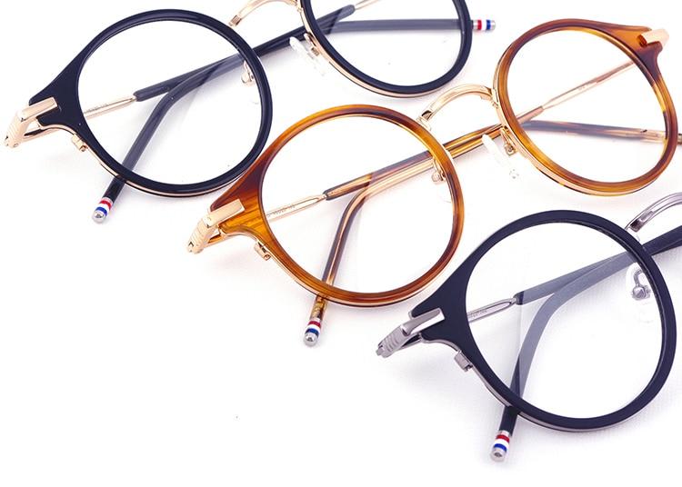 43b084ddf80b9 Prescription Eyeglasses Frames Men Women Fashion reading Glasses Computer  Optical Frames TB807 With Original Box oculos de grau
