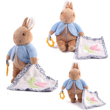 Baby Cute Soft Hand Towel Infant Reassure Bear Kids Appease Towels Care Product