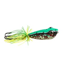 Angler Dream 1Pcs Frog Lure Popper Fishing  Top Water Floating 58MM 11.5G Hard Fishing Lure VMC 3/0 Double Hook For Pike Bait