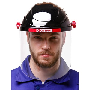 Image 2 - Safety Cutting Polish Mask Helmet Full face Protective Transparent PC Anti Chemical Oil Splash Dust UV Resistant Pesticide Spray