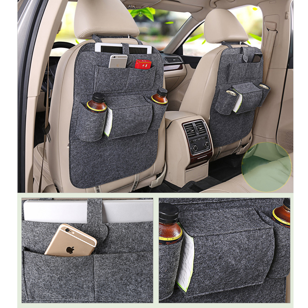 car backseat bag high grade blankets seat back storage organizer travel stowing tidying bags car. Black Bedroom Furniture Sets. Home Design Ideas