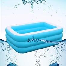Большая надувная ванна для взрослых портативная пластиковая