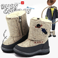 MMNUN Russian Famous Brand Children's Winter Shoes High Quality Wool Felt Boots for Children Baby Shoes Winter Boots for Boys