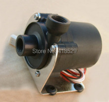 12V DC Water Pump 500 L/H G1/4″input and output sc600 with Bracket