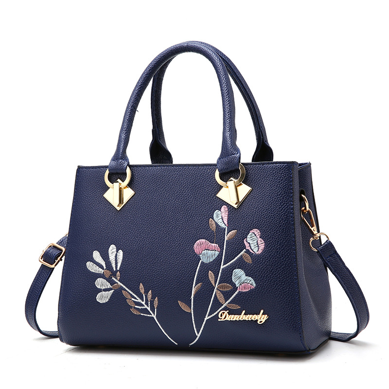 Messenger Bags Women Handbag Flower Women Shoulder Bags Women Pu Leather Tote Bag Ladies Bags s Totes Sac A Main S1213