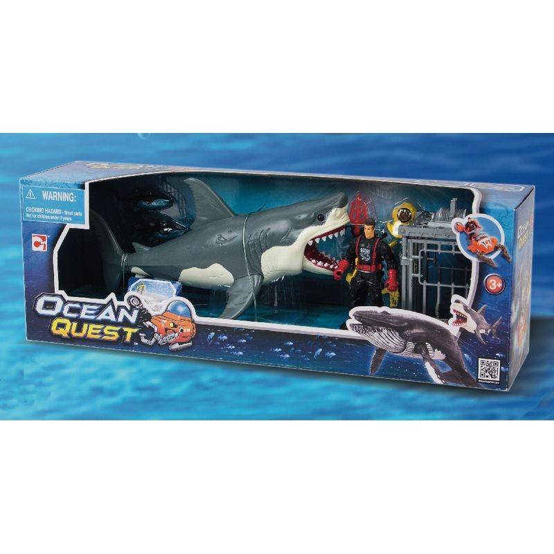 1:18 Chap Mei Animales Biology Shark Ocean Quest Action Figures Anime Figure Gift Toy Kids Toys For Children