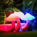 Гриб СВЕТОДИОДНЫЕ Лампы Ночь декоративные Подарок современный дизайн моды ПРИВЕЛО Датчик Света Лампа Для Ребенка Спальня Lampara Де Lava Ночная