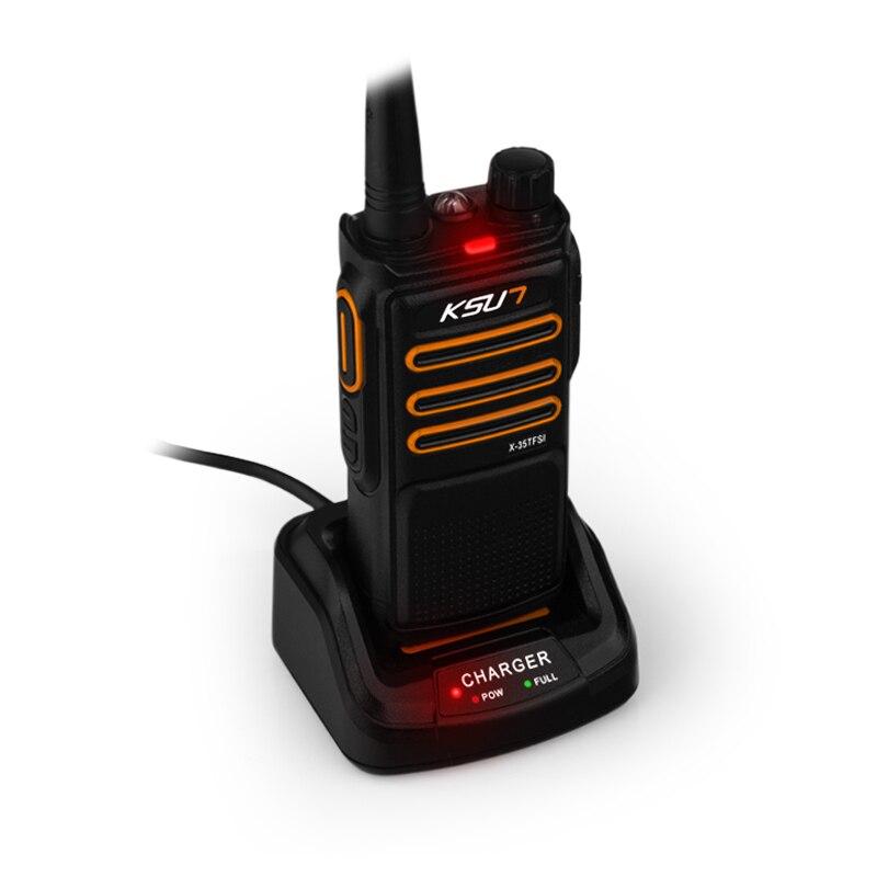 Купить с кэшбэком KSUN X-35 Handheld Walkie Talkie 6W High Power UHF Handheld Two Way Ham Radio Communicator HF Transceiver Amateur Handy