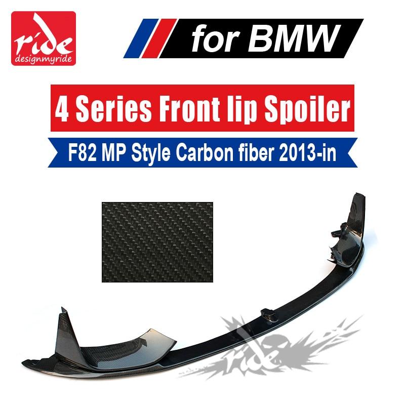 Юбка переднего бампера из углеродного волокна сплиттер спойлер для BMW F82 M3 F83 M4 бампер 2013 18 переднего бампера тюнинг Запчасти 3 предмета в ком