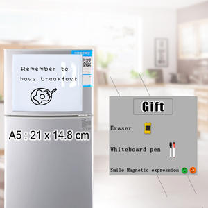 YIBAI Board Erase Magnet And for Fridge-Refrigerator Recording Drawing Flexible Dry