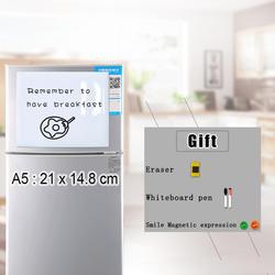 YIBAI магнитная доска для записей Гибкая магнитная доска, сухого стирания рисунок и записи доска объявлений для холодильника холодильник