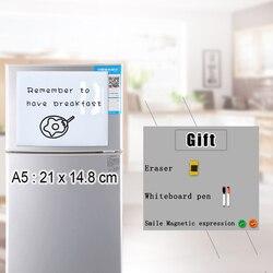 Yibay магнитная доска для записей Гибкая магнитная доска, сухая стирания рисования и панель записи доска сообщений для холодильника