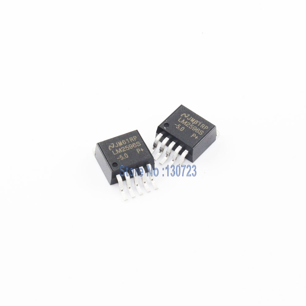 10PCS IC NSC TO-263 LM2576S-5.0 LM2576S-5 LM2576SX-5.0