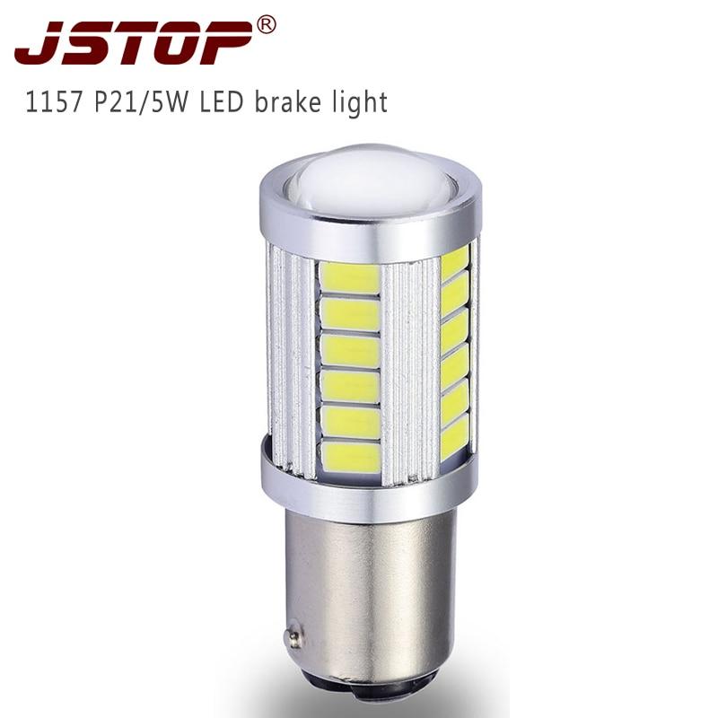 JSTOP feux de freinage P21 / 5W led T20 gaismas 12-24 VAC bremžu - Auto lukturi