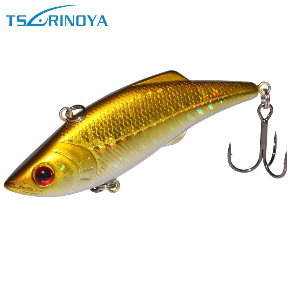 Trulinoya DW05 1PC Fishing Lure VIB 7.4cm 13g Lipless Crankbait Deep Sea Hard Bait For Lure Fishing
