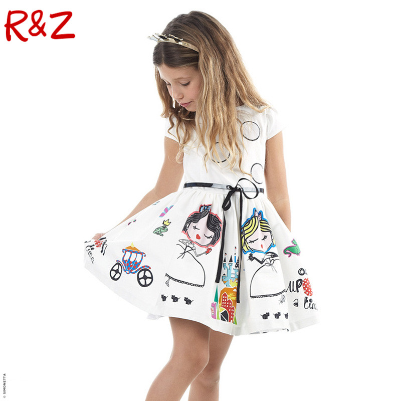 Подробнее о Girls Summer Dress Kids Clothes 2016 Brand Baby Girl Dress with Sashes Robe Fille Character Princess Dress Children Clothing baby girl dress 2016 brand girls summer dress children clothing lemon print kids dresses for girls clothes robe princesse fille