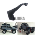 1:10 RC Crawler Black Rubber Safari Snorkel for RC4WD D90 Jeep Wrangler Rubicon Body Shell