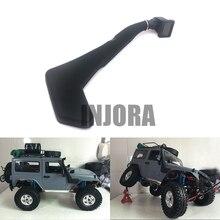1 10 RC Crawler Black Rubber Safari Snorkel for Axial SCX10 RC4WD D90 Jeep Wrangler Rubicon