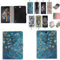 TX For Samsung Galaxy Tab A 9.7 inch T550 SM-T555 T555 Tablet Case Painting OWI Tiger Style Pu Leather Stand Case Cover Fundas