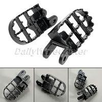 Motorcycle Footrests MX Foot Pegs MotorBike Steel Foot Rest Footboard Pedal for Honda CR80 XR250/400 XR350R XR600R XR650L XR650R