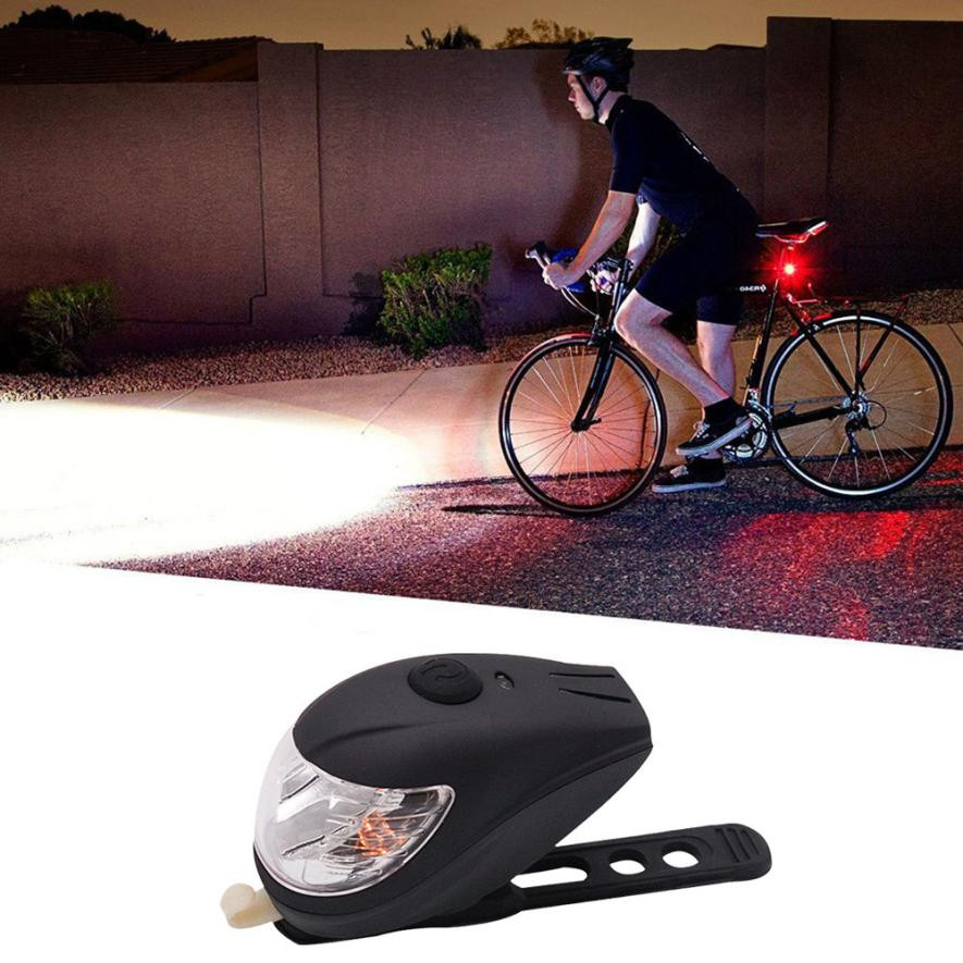 Intelligent Sensing Bicycle Headlight USB Rechargeable Bright 250LM LED Bike Front Light Waterproof durable Aluminum alloy ABS
