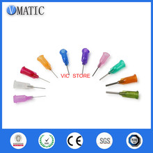 "Free Shipping 0.5"" Tubing Length 100 Pcs Te Premier Dispense Tips Dispenser Needles 1/2 Inch Dispensing Needle Tips"