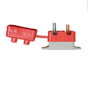 Image 3 - 12 V 30A/40A/50A スタッドラインプロテクター赤保護カバー自己回復過負荷ヒューズ