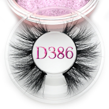 Mikiwi D386 Eyelashes 3D Mink Lashes natural handmade volume soft lashes long eyelash exte