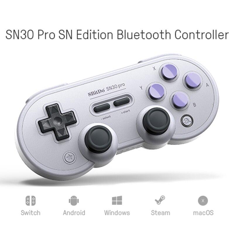 8bitdo SN30ProG Rétro Sans Fil Bluetooth Contrôleur Gamepad Pour Nintend Pour Interrupteur Joystick Pour Android Windows macOS