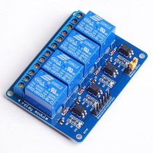 1PCS  5V 4-Channel  Module Shield for Arduino ARM PIC AVR DSP Electronic 5V 4 Channel Relay Module