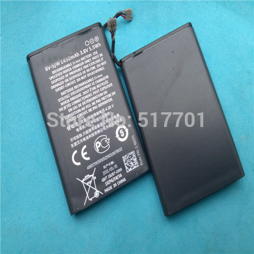 ALLCCX high quality mobile phone battery BV-5JW for Nokia N9 Lumia 800 N800C with best price and good quality