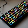 Backlit Mechanical Keyboard Translucent Keycap Thick PBT OEM Profile 104 Key Double Skin Gaming Keyboard Keycap