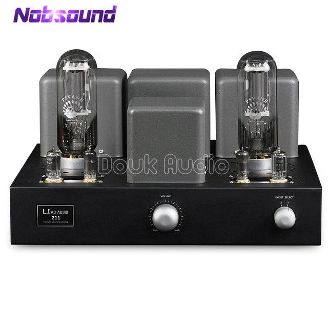 US $1119 2 20% OFF|Hi Fi 211 Vacuum Tube Amplifier Single Ended Class A  Stereo Audio Power Valve Amplifier 20W+20W-in Amplifier from Consumer