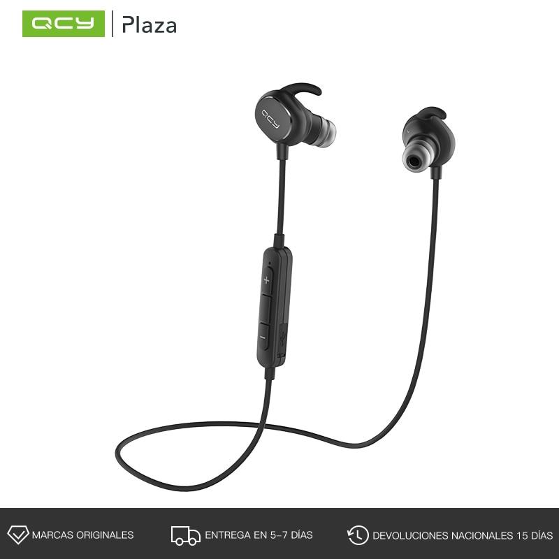 QCY Bluetooth Kopfhörer mit Mic Wireless Sport Headset Bluetooth 4,1 APT-X Bass Musik Ohrhörer mit IPX4 Sweatproof