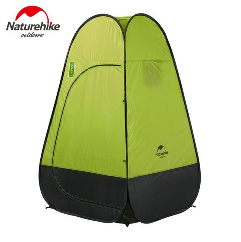 Naturehike Quick Automatic Opening Washing Toilet Tent Fishing Restroom Portable Outdoor Tent naturehike camping tent quick automatic opening washing toilet tent fishing restroom portable outdoor tent mobile bathroom