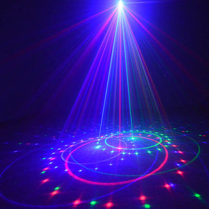 Image 2 - Lumières de noël en plein air rvb Laser projecteur mouvement 32 modèles vacances Festoon lanterne lumière nouvel an guirlande décor