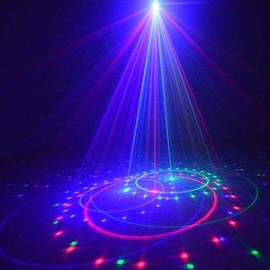 Image 2 - Outdoor Christmas Lights RGB Laser Projector Motion 32 Patterns Holiday Festoon Lantern Light New Years Garland Decor