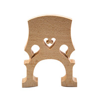 2 Pcs Exquisite Cello Bridge 4 4 3 4 1 2 1 4 1 8 Top