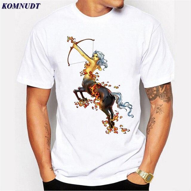 2018 Funny T Shirt Short Sagittarius Zodiac Symbol Present Horoscope