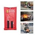 Противопожарное одеяло аварийное спасательное противопожарное укрытие защитное огнетушители огнестойкое одеяло первой помощи безопасны...